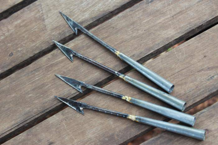 Самодельные наконечники для гарпуна