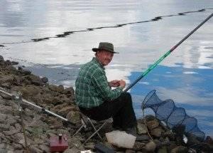 Как поймать большую рыбу на удочку