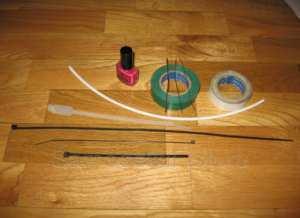 Инструменты для изготовления кивка