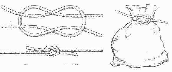 Схема воровского морского узла