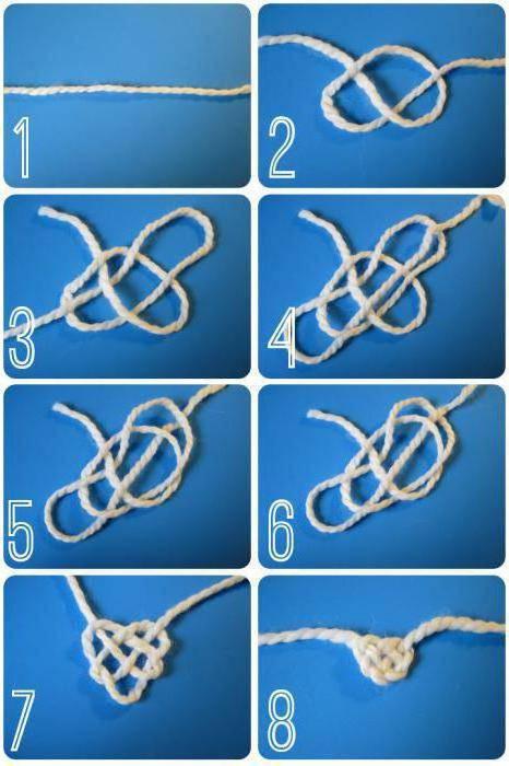 как завязать крепкий узел на веревке