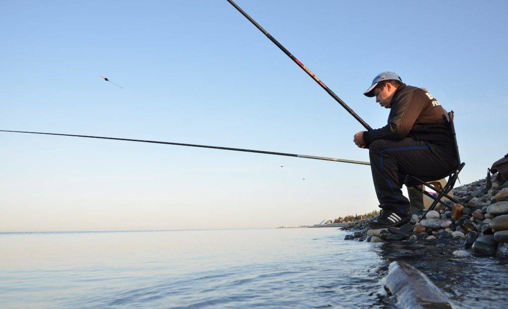Рыбалка черное море с берега
