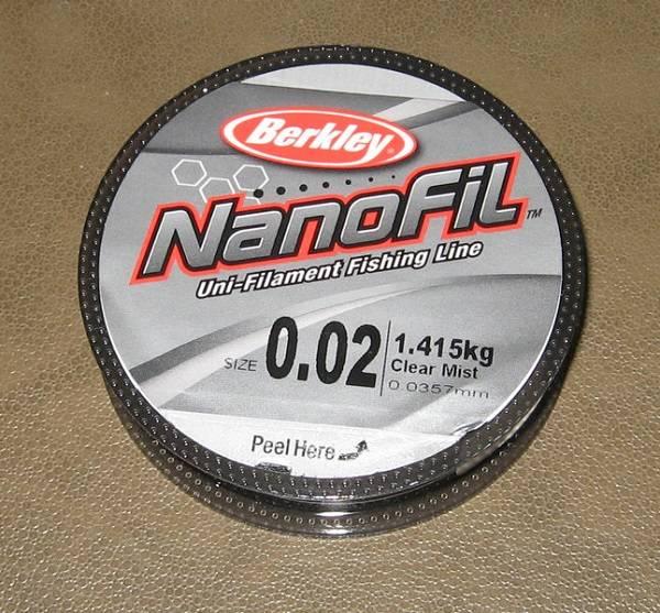 Нанофильная леска что это такое