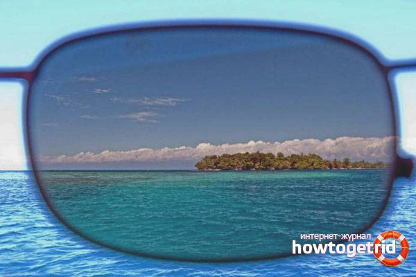 Как проверить поляризационные очки