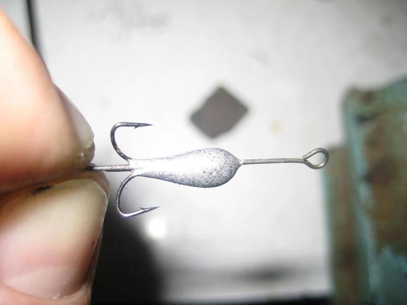 Как привязать мормышку крючковязом
