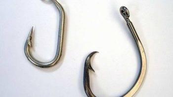 Крючки раной формы