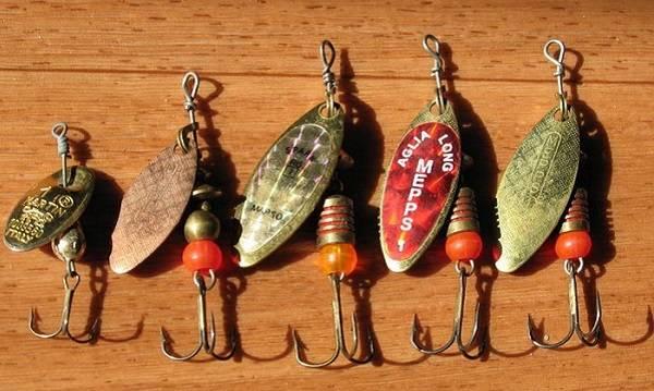 Одними из лучших считают небольшие колебалки серебристого цвета фирмы «Кастмастер»