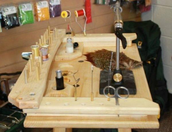Материалы для вязания мух