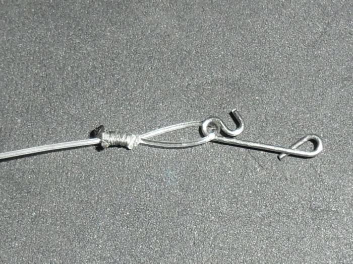 Поводок на щуку из флюрокарбона своими руками