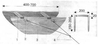 Реверсивный кораблик для рыбалки своими руками чертежи