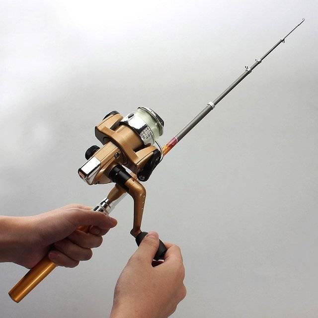 Оснастка донной удочки для ловли на течении