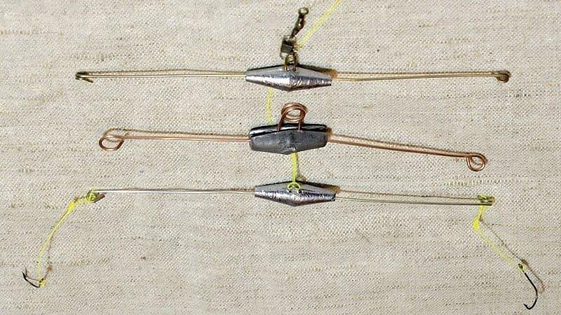 Коромысло для рыбалки из чего сделать