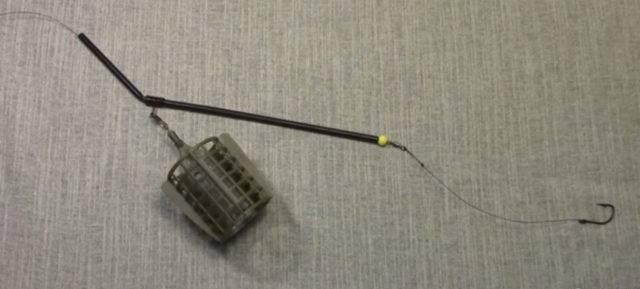 Оснастка для фидера с противозакручивателем
