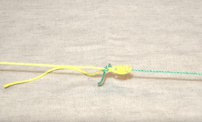 Как связать между собой леску и шнур