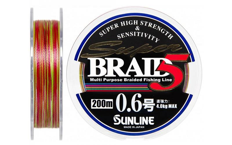 Super Braid 5HG 150 м 0.6 — с ярким дизайном