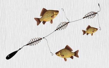 Как ловить рыбу на пенопласт