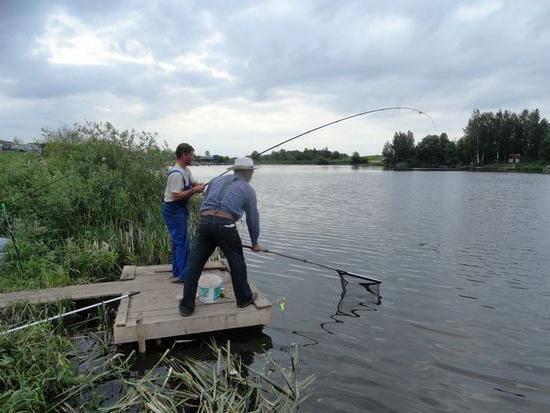 Рыбалка савельево