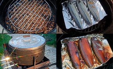 На чем можно коптить рыбу